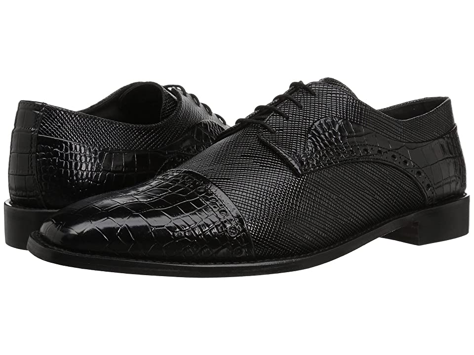 Stacy Adams Rodrigo Cap Toe Oxford (Black) Men