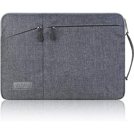 WIWU PCインナーバッグ 裏起毛 360°全面保護 衝撃吸収 防水 11.6~12インチ ノートパソコンケース laptop/surface pro/Pad/ラップトップ/ウルトラブック/タブレット用 PCバッグ (12inch グレー)