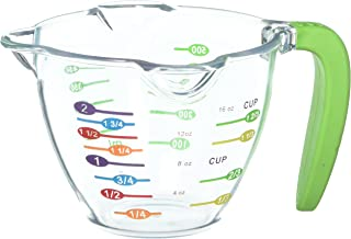 Curious Chef TCC50151 Kids 2 Clear Measuring Cup, One Size