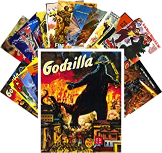 Postcard Set 24 cards Godzilla Vintage Movie Poster Kaiju Horror Monster