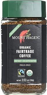 Best mount hagen organic freeze dried instant decaffeinated coffee Reviews