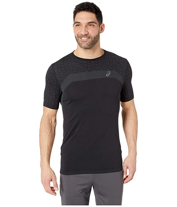 ASICS Mens Seamless Short Sleeve Texture
