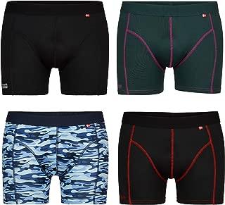 Men's Sports Underwear, Multipack, Fast Drying, Soft, Black, Green, Purple, Red