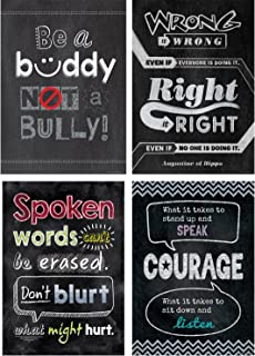 Creative Teaching Press Poster Anti-Bullying Inspire U Poster Pack (6682)