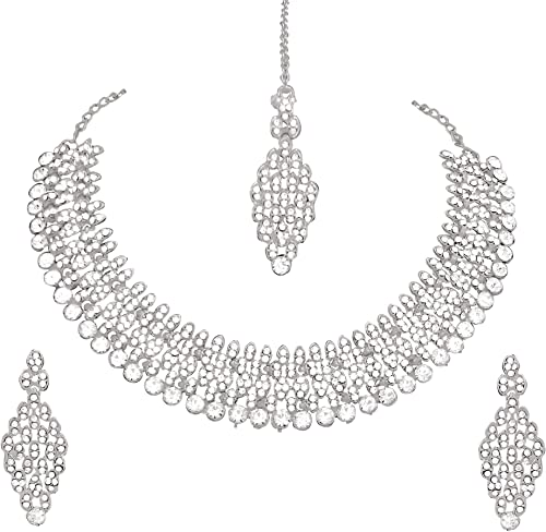 Jewellery Set for Women Silver R1772