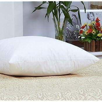 Luxuredown White Goose Down Pillow, Firm - King Size
