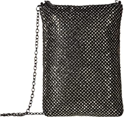 Gina Sparkle Mesh Shoulder Bag Crossbody