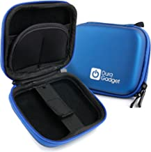 DURAGADGET Blue Hard EVA Shell Case with Carabiner Clip & Twin Zips - Suitable for The Byakov S6 Dash-Cam