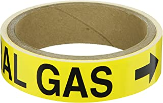 gas pipe labels
