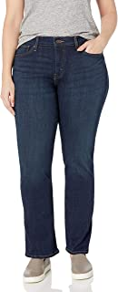 Plus-Size 414 Classic Straight Jean
