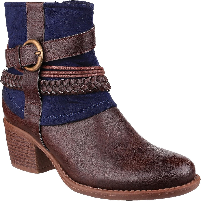 Divaz Womens Ladies Vado Ankle Boots