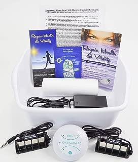 Detox Foot SPA Aqua CHI Cleanse Machine with Super Duty ARRAYS are Stronger & Longer Lasting; SPA Detox Foot Bath