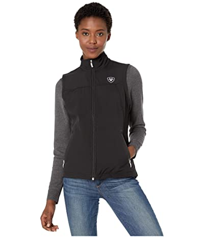 Ariat New Team Softshell Vest (Black) Women