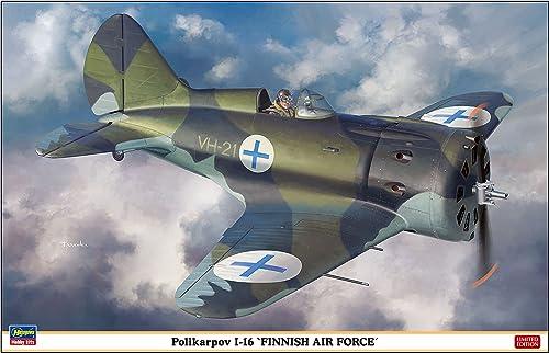 Hasegawa Hst082541  32Polikarpov I-16Finnish Air Force, Multi