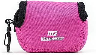 MegaGear MG047 ultralätt neoprenfodral med karbinhake för GoPro Sj5000/GroPro/Hero 3+/SJ4000/HD/Hero 4/Hero 5 svart kamera...