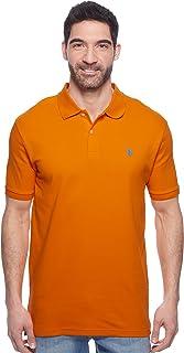 U.S. Polo Assn. Men's Solid Interlock Polo Shirt (Color...