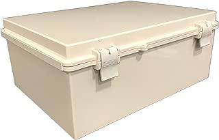 BUD Industries NBF-32016 Plastic ABS NEMA Economy Box Electrical Box for