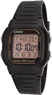 Casio Watch for Men - Digital Resin Band - W-800HG-9AVEF