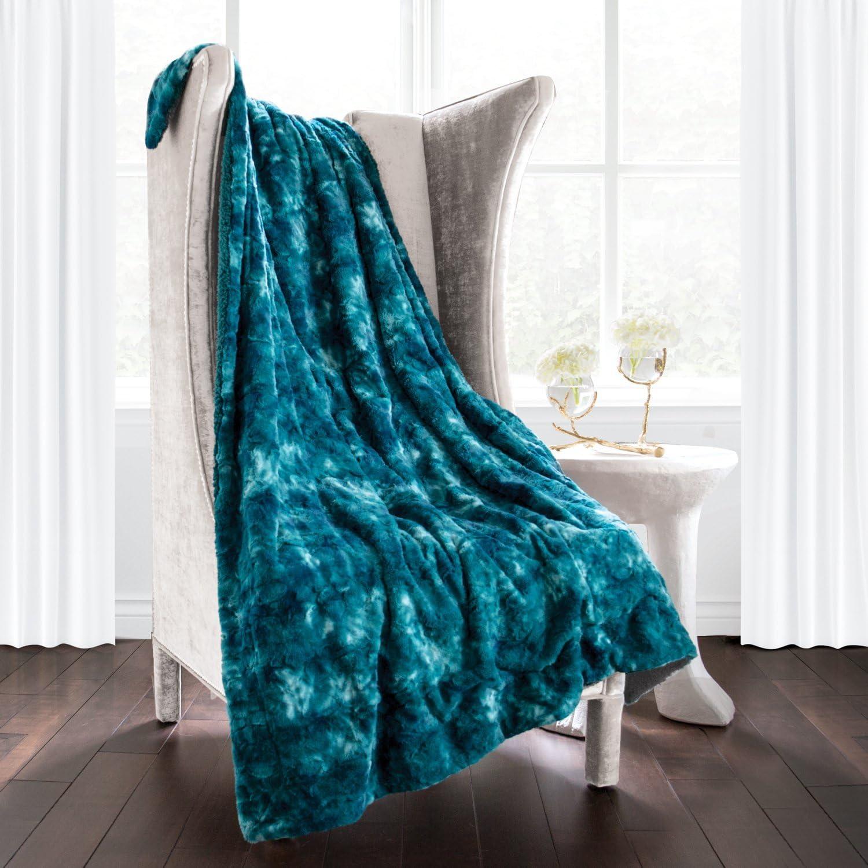 Egyptian Luxury Super Soft Faux Fur Max 60% OFF Cozy Blanket Elegant Nippon regular agency - Throw