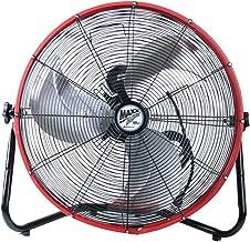 MaxxAir HVFF 20S REDUPS Shroud Floor Fan, 20-Inch, Red
