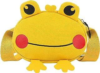Monanoat Girls Frog Crossbody Purse Bags Mini Frog Waist Bag Coin Purses for Kids Girls Boys