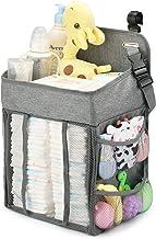 Maliton Bolsa de Pañales Colgante, Almacenamiento de Pañales Bebé, Organizador Coche Bebe,Organizador Almacenamiento para Cunas, Cambiador,Parque Cuna Bebe, Regalos Recién Nacidos