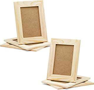 Best unfinished wood picture frames craft Reviews