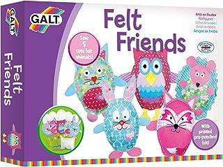 Galt 1004306 Felt Friends Kids Craft Kit, Multi