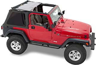 Pavement Ends by Bestop 56840-35 Black Diamond Frameless Sprint Top for 1997-2006 Jeep Wrangler