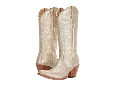 Ariat Platinum (Gold Brushed) Cowboy Boots