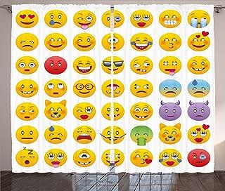 Best emoji curtains uk Reviews