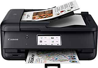 Canon TR8620 All-In-One Printer For Home Office | Copier |Scanner| Fax |Auto Document Feeder | Photo and Document Printing...