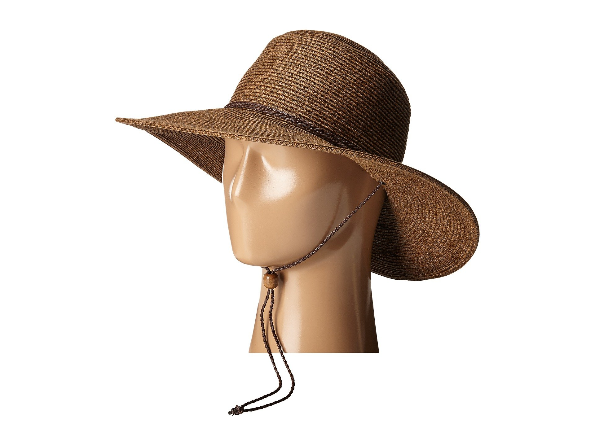 UBM4453 4 Inch Brim Sun Hat with Twisted Adjustable Chin Cord 7443184d9a3a