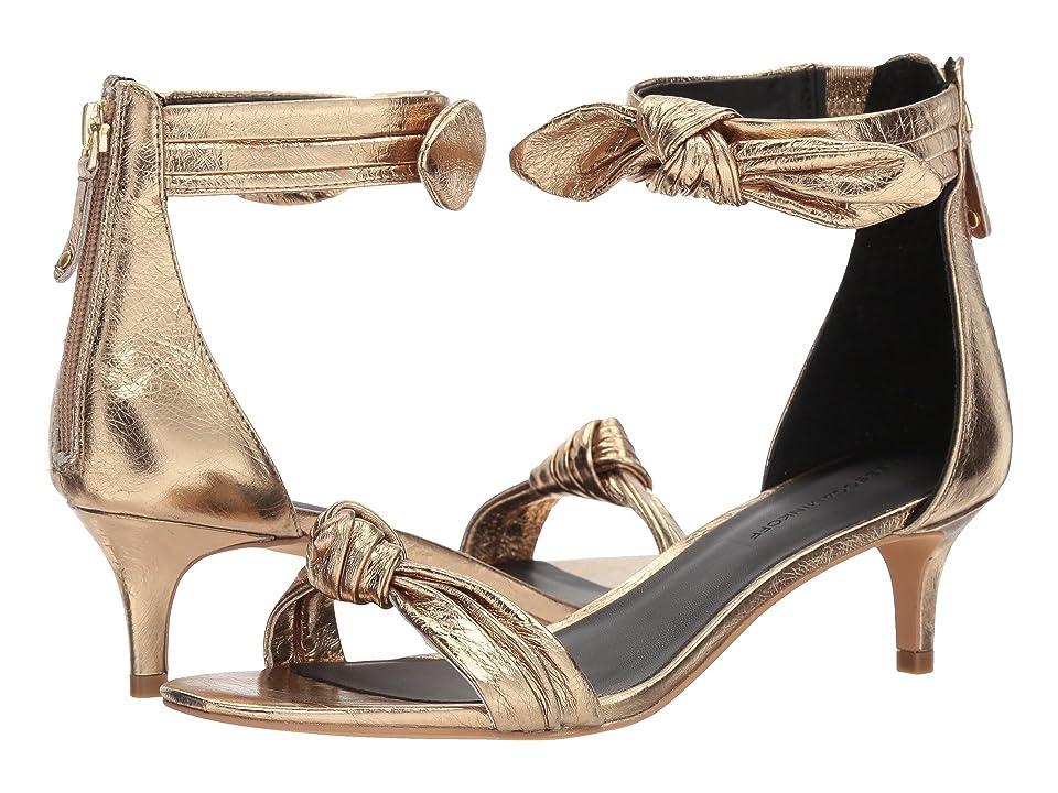 Rebecca Minkoff Kaley (Gold Distressed Metallic Leather) Women