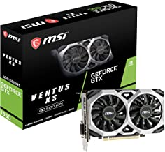 MSI G1650VXS4C Gaming GeForce GTX 1650 128-Bit HDMI/DP 4GB GDRR5 HDCP Support DirectX 12 VR Ready OC Graphics Card (GTX 16...