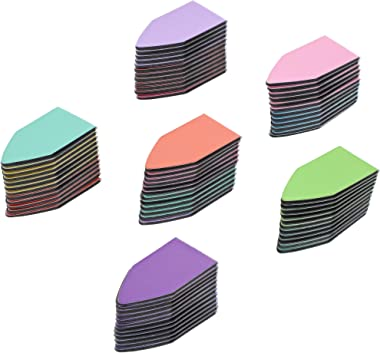 Magnetic Page Marker Tabs, Bookmark Magnet (1 x 0.5 in, 72 Pack)