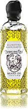 Beard and Lady - All Natural Beard Oil - 1.7 fl oz - Prevent Dry or Itchy Beards and Mustaches - Scented with Sandalwood, Bourbon, Patchouli, Cedar, and Clove