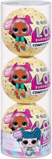 L.O.L. Surprise! Confetti Pop 3 Pack Glamstronaut – 3 Re-Released Dolls Each with 9 Surprises...