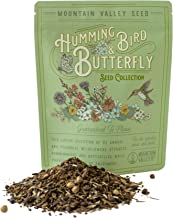 Package of 80,000 Wildflower Seeds - Hummingbird and Butterfly Wild Flower Seeds Collection - 23 Varieties of Pure Non-GMO...