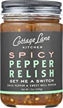 Cottage Lane Kitchen Pepper Relish - Spicy Chili & Sweet Bell Peppers, 12oz Jar
