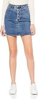 IMONNI Women's Sophia Button UP Skirt