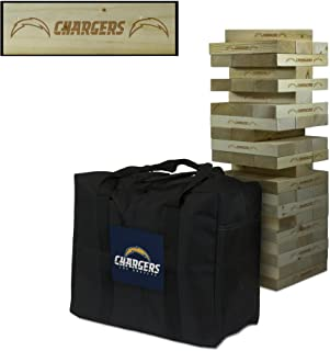 Victory Tailgate NFL Giant Wooden Tumble Tower Game Set - All NFL Teams Available