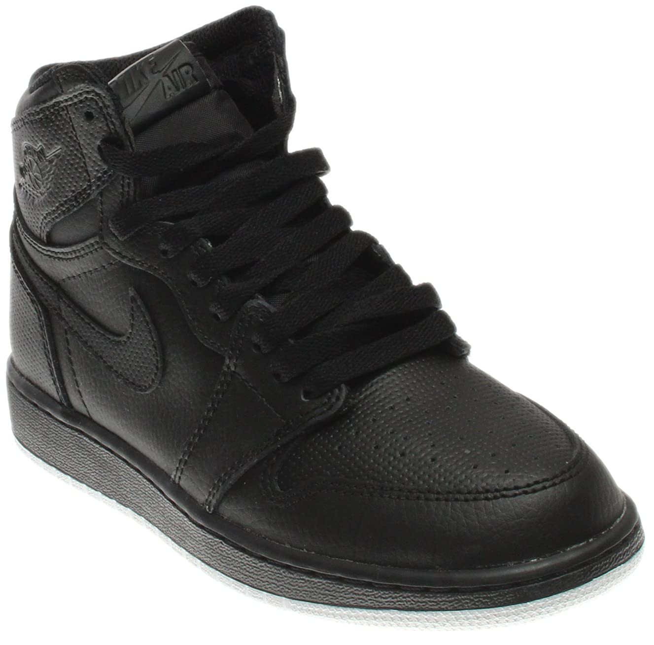 Nike Air Jordan 1 Retro High Og Bg Black Boys/Girls
