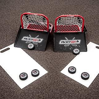 HockeyShot Mini Hockey Sauce Combo | Training Aid Mini Sauce Kit Single or Double | Training and Trick Shot Kit