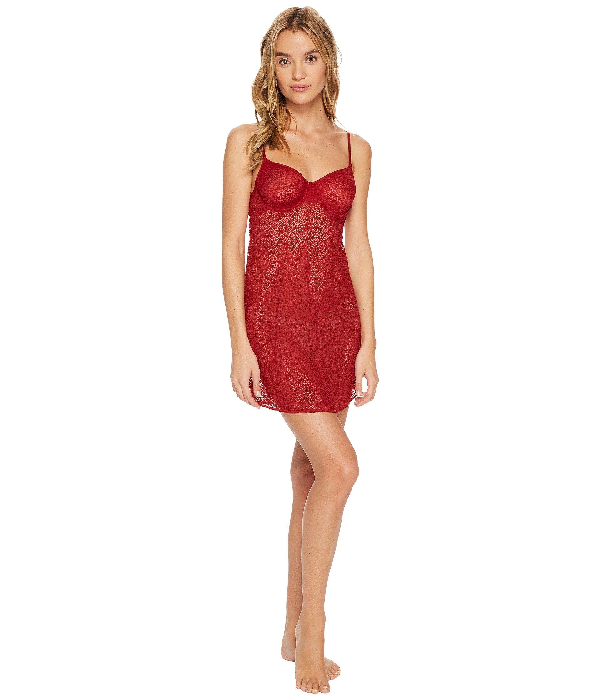 Lenceria DKNY Intimates Modern Lace Unlined Demi Chemise  + DKNY en VeoyCompro.net