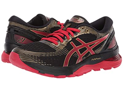 ASICS GEL-Nimbus(r) 21 (Black/Classic Red) Women