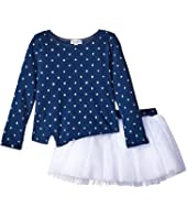 Splendid Littles - Indigo Tutu Dress Star Print (Toddler)