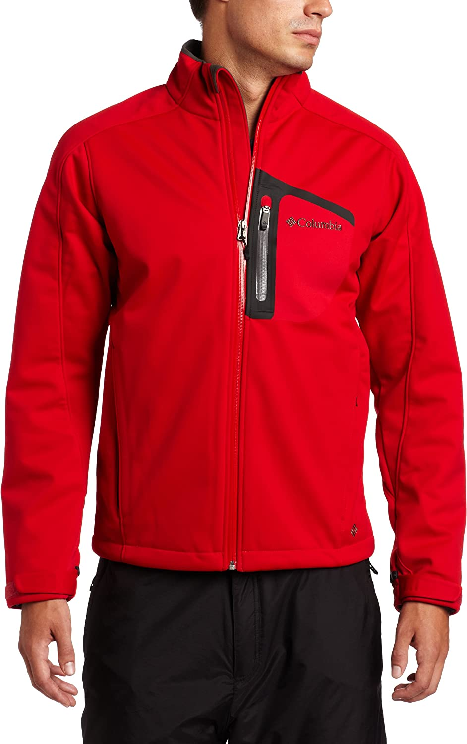 Columbia Men's Supah Softshell Buttah Max 60% OFF Selling and selling Jacket