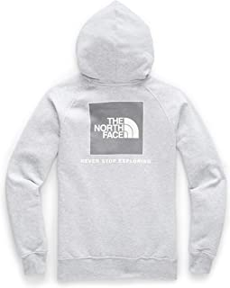 The North Face Women's Red Box Pullover Hoodie, TNF Light Grey Heather/TNF White Foil, XXL