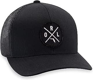 ORL Hat – Orlando Trucker Hat Baseball Cap Snapback Golf Hat (Black)